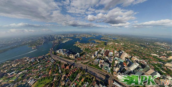 位于澳洲的东南岸,也是澳洲人口最稠密的城市. -360度看我们的地球