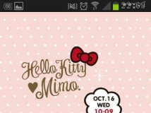 mimo.X HELLO KITTY LIVEWALLPAPER